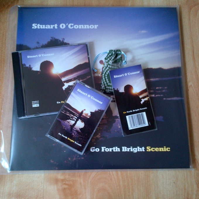 Go Forth Bright Scenic.  4 Albums on 4 Formats.  2xLP, Tape Cassette, CD & USB.  44 songs in all