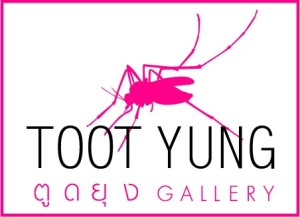 Toot Yung Gallery where I was sleeping for my final week in Bangkok
