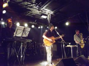 Sharing the Stage with Eiji and Graham