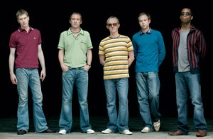 Ocean Colour Scene - The line up from the tour I supported them on.