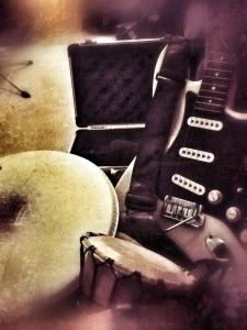 Studio Shot 2 - Musical Mess taken by Chris Hollis