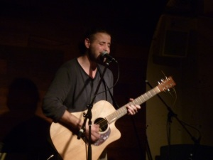 Onstage in CCO Bar - Photo taken by Cecilia Chailly