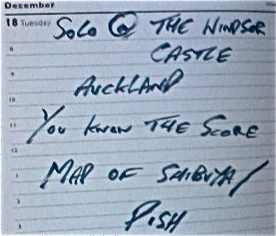 2nd Windsor Castle Guest Spot Setlist
