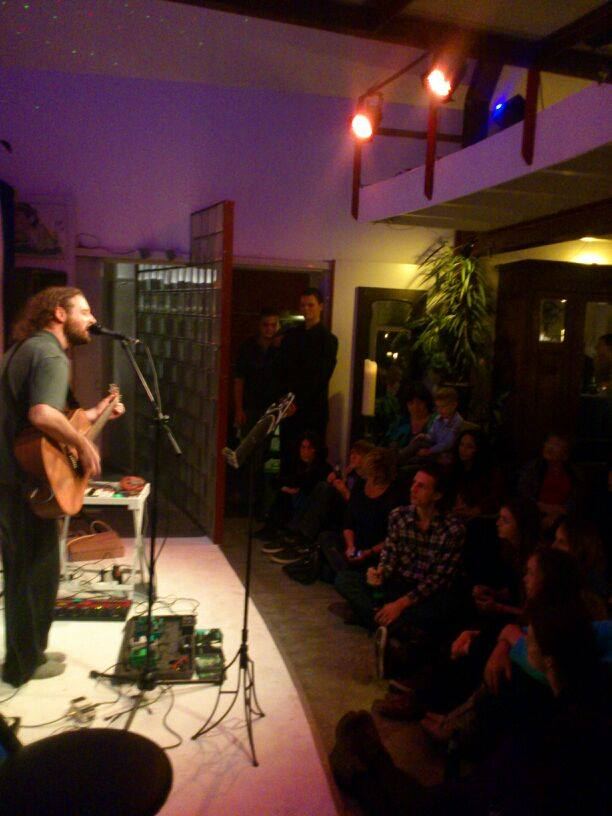 Performing at a private booking in the Netherlands - Photo Taken By Jasper Smit.