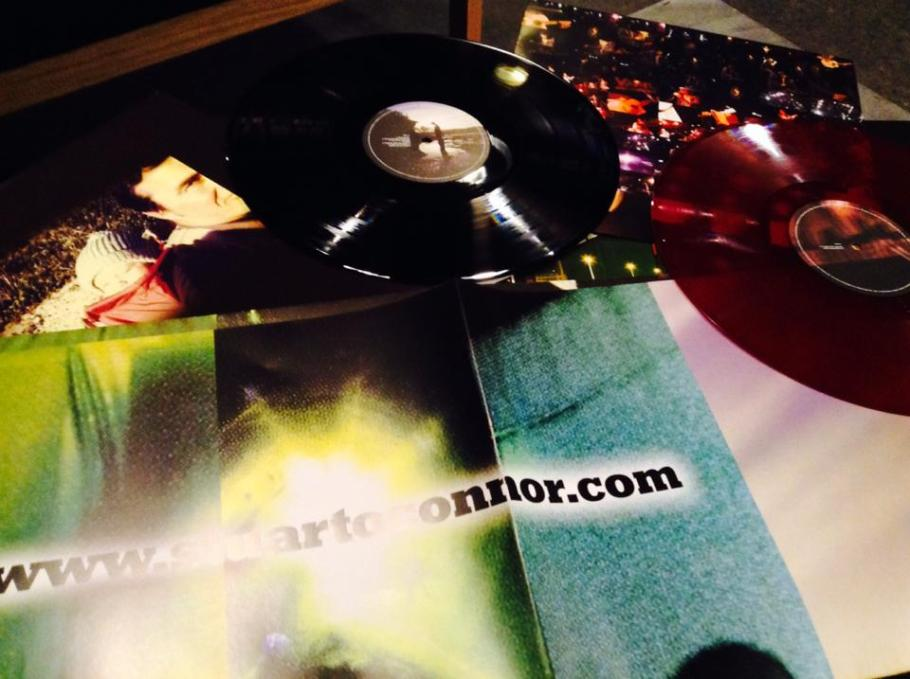 "Happy to have sold one of the 2X12"" Vinyl LP's. They weigh a lot. - phew!!"