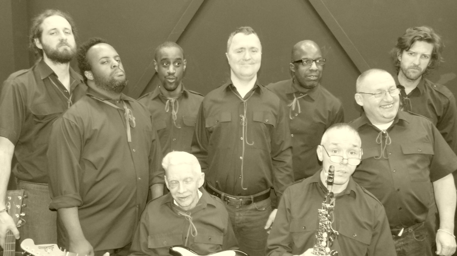 As a member of the Bad Ol Boys (L 2 R:- Myself, Lee G, Jamie, Eric, Lee E, Ken, Chris, Gerald & Sam)
