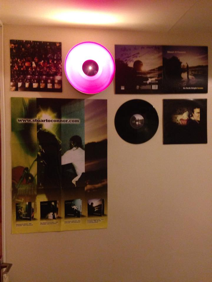 Pretty random to see an entire LP turned into a wall Display. Thanks to Pete Black for sending through this pic.
